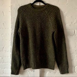 Royal Robbins green sweater size small